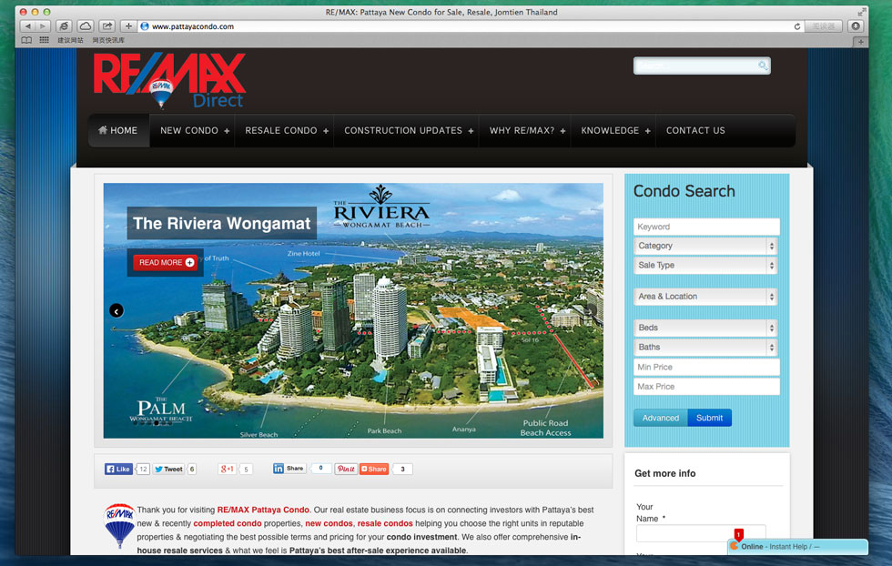 RE/MAX Pattaya Condo: Condos Apartment for Sale in Pattaya