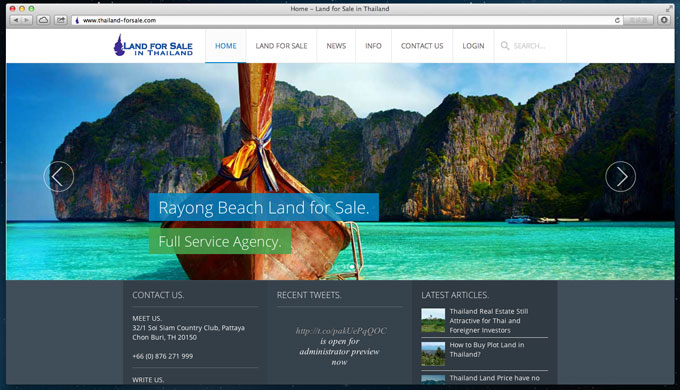 www.Thailand-forSale.com - Land for Sale in Thailand